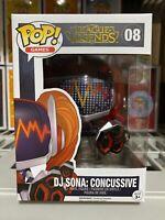 Funko Pop League of Legends DJ Sona Concussive #08 Ready To Ship Fast Free