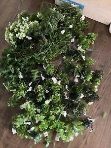 Vinyl greenery Lot for craft , Vintage, New