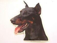DOBERMAN PINCHER Dog Breed Double sided COLOR Decal  Car Sticker NEW #2