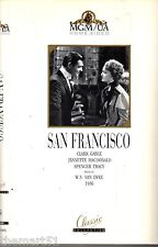 San Francisco (1936) VHS MGM Classic Video Clark Gable Spencer Tracy Van Dyke