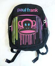 Paul Frank Julius Color Paint Drip Large Backpack BRAND NEW Shoulder School Bag