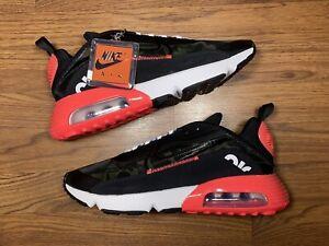 Nike Air Max 2090, Infrared Duck Camo. Men's Size 10.5. CU9174-600