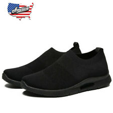 Men's Slip on Shoes Casual Tennis Sports Breathable Lightweight Running Sneakers
