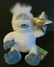 New Cvs Abominable Snowman Gold Star Happy New Year 2000 Plush Stuffed Rudolph