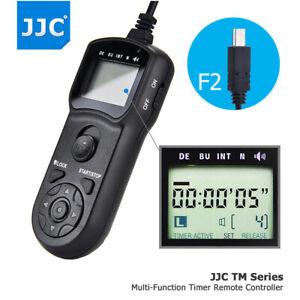JJC LCD Timer Remote Control for Sony A7 III II A7R IV III II A7S II A9 II A58