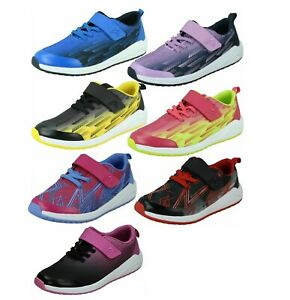 CLARKS Aeon Pace K Boys / Girls Trainers Size 10 to 2.5