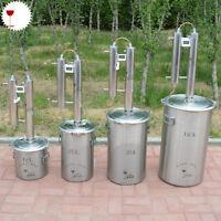 20 L DIY Haus Destille Destillieranlage Kupfer Kühler Schnäpsen Ätherischer Öle
