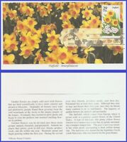 US #2761 U/A MYSTIC FDC   Daffodil Garden Flowers