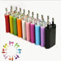 Caricabatterie Adattatore Universale USB rete presa 220v wall charger Smartphone