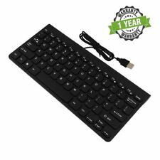 Black USB KEYBOARD for APPLE iMAC, Macbook, Android phones