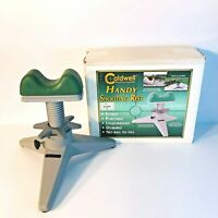 Caldwell Shooting Supplies Handy Shooting Rest - Adjustable - Green & Grey - EUC