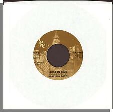 """Heaven & Earth - Just In Time + Kick It Out - 1980 7"""" 45 RPM Soul Single!"""