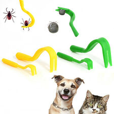 4X Tick Bugs Fleas Remover Hook Tool Human/Dog/Pet/Horse/Cat/Puppy Useful Tool A