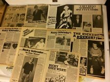 Ricky Schroder, Lot of TEN Full Page Vintage Clippings , Rick