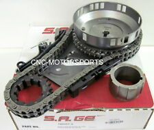 S.A. GEAR 78505T-9 Billet Timing Chain Set with Thrust Brearing 5.7 6.1 Hemi