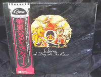 Queen A Day At The Races Sealed Vinyl Record Lp Japan 1976 Orig P-1030E Obi