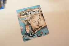 ROMEO AND JULIET - Glossy Bluray Steelbook Magnet Cover NOT LENTICULAR