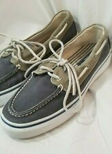 Sperry Top-Sider, Bahama Boat Shoes Mens size 8.5M Slip On Loafers Navy Comfort