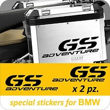 2 Adesivi Stickers BMW R 1200 1150 1100 gs valigie adventure R GS