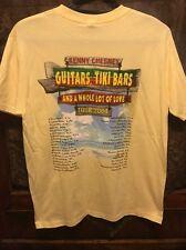Kenny Chesney ~ New ~ Men's Med ~ 2004 Guitars Tiki Bars & Love Tour T Shirt