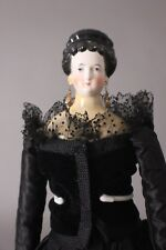 "Stunning & Rare 21"" China Head Lady Doll, ca.1860s, possibly Conte & Boheme"
