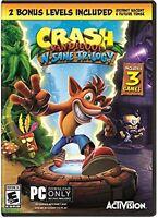 Crash Bandicoot N. Sane Trilogy  PC NEW!