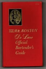 Old Mr. Boston DeLuxe Official Bartender's Guide ~ 18th Printing June 1961