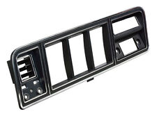 FORD F100 - F350 TRUCK BRONCO CHROME & BLACK INSTRUMENT CLUSTER BEZEL WITH  A/C