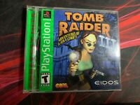 Tomb Raider III 3 Playstation 1 PS1 Complete w/ Manual CIB Authentic
