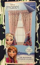 Disney Frozen Curtains 2 Panels Drapes Breeze Into Spring New Fast Priority Ship