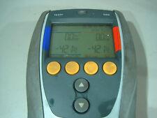 1x Testo Manometer-digitalgruppe Testo 556-1 Kälteanlage Annalyse Messgerät (18)