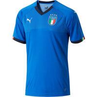 PUMA Men's Italia 17/18 Home Jersey Power Blue/Peacoat 752281 01