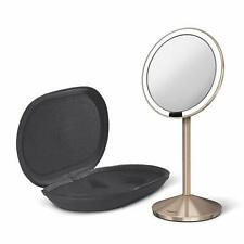 Simplehuman Mirror Sensor ST3010 Mini With Carry Case Rose Gold Brand New In Box