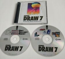 CorelDraw 7 Desktop Publishing Image Editing Drawing Illustration Software PC CD