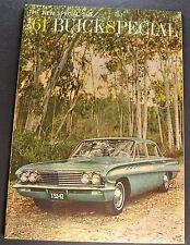 1961 Buick Special Large 18 page Catalog Sales Brochure Excellent Original 61
