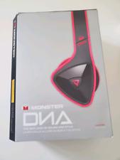 Monster DNA Headphones - Noise Isolation  - Pink (Rare)