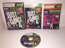 Just Dance 4 Microsoft Xbox 360 Kids Kinect Family Game Free Shipping!!!