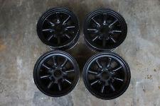 """JDM Watanabe 14"""" banana rims wheels ae86 ta22 datsun long champ ke70 dx ssr"""