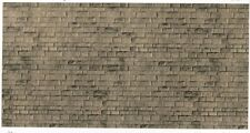 Vollmer kit 46049 NEW HO WEATHERED STONE  EMBOSSED CARD SHEET 250X125MM