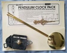 New listing Clarity Quartz Pendulum Clock Pack