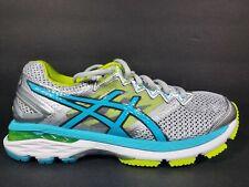 Asics Gel GT 2000 4 Womens Size 6.5 Shoes White Blue Silver T657N Width D Wide