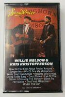 Willie Nelson & Kris Kristofferson Cassette Tape Songwriter Columbia 1984