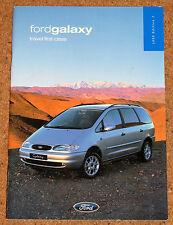 1999 ford galaxy sales brochure-lx zetec ghia 4x4 tdi 2.3i