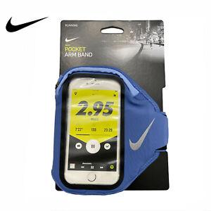Nike Running Phone Pocket Zip Arm Band In Indigo 129862 Plus Phone Case