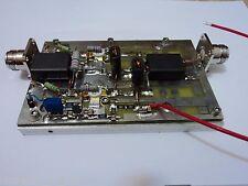 0,75-75 MHZ Lab. PALLET AMPLIFIER N-Type/N-Type HF 30 WATT with 2XMRF171A new
