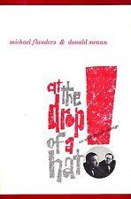 "Michael Flanders ""AT THE DROP OF A HAT"" Donald Swann 1959 Souvenir Program"