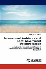 International Assistance and Local Government Decentralization: A study on the a
