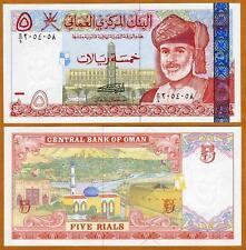 Oman, 5 Rials, 2000, P-39, UNC > colorful