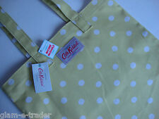 Cath Kidston cítricos Polka Spot Lona bolso shopper / Escuela / bolso para libros BNWT