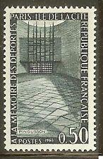 FRANCE TIMBRE NEUF N° 1381  **  A LA  MEMOIRE DES DEPORTES MONUMENT DE PARIS